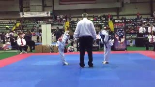 May's Warriors Aaron Alaniz 2016 IL State TKD Championships