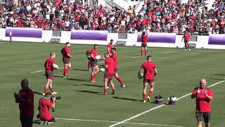 Wales Train In Front Of 15,000 Rugby Fans In Japan - Rugby World Cup