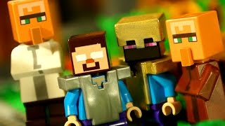 Кока Все Серии - Мультики Лего Майнкрафт для Детей. Lego Minecraft Survival Animation for KIDS