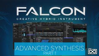 UVI Falcon Tutorials   Advanced Synthesis - Part 1