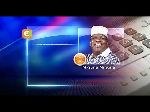 Odinga asks Miguna to regularise his citizenship