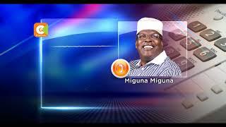 Odinga asks Miguna to regularise his citizenship