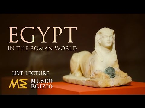 LIVE lecture: Egypt In the Roman World - Prof- Versluys