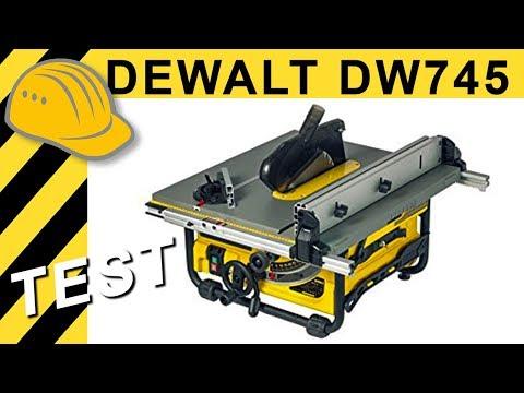 TEST DeWalt DW745 Tischkreissäge - Geheimtipp der 500€ Klasse?