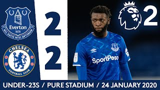 QUIRK AND EVANS ON TARGET IN PL2 | U23 HIGHLIGHTS: EVERTON 2-2 CHELSEA