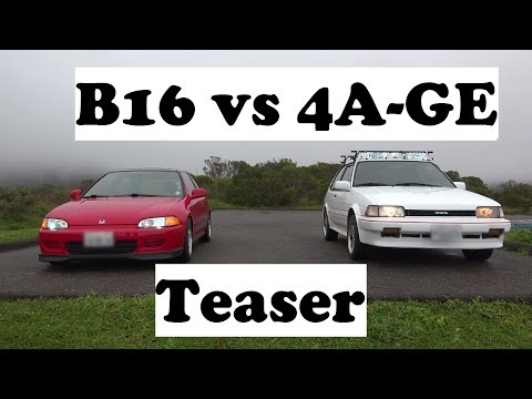 Preview- B16 vs 4AGE Ultimate NA engine showdown