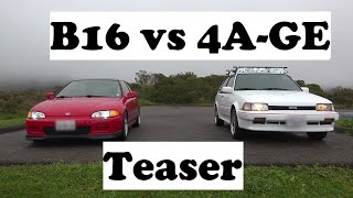 Preview- B16 vs 4AGE Ultimate NA engine showdown