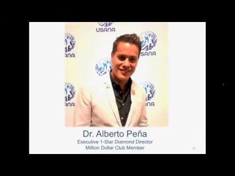 Dr. Alberto Pena replaces his Doctor's Income with his leveraged USANA Business