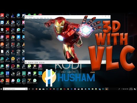Watch 3D Movies Using VLC In Your Own Windows PC