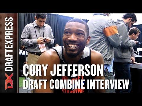 Cory Jefferson Draft Combine Interview