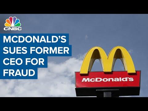 McDonald's Sues Former C.E.O. Steve Easterbrook