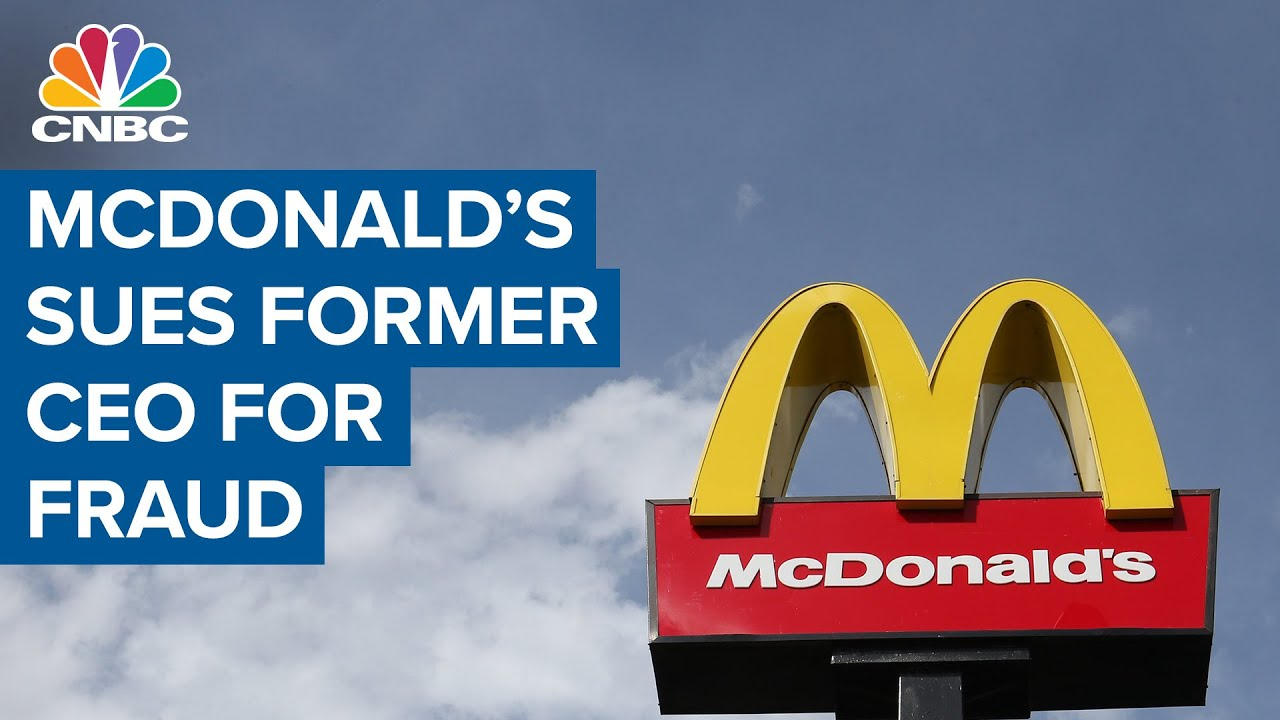McDonald's is suing ousted CEO Steve Easterbrook for lying about ...