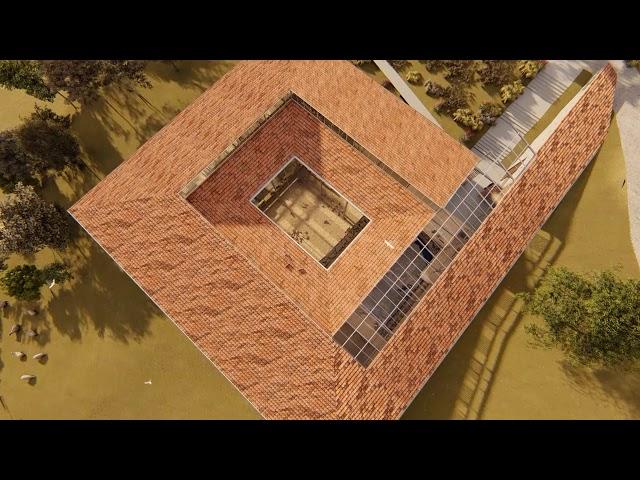Kadıoğlu Mozaiği Koruma Çatısı