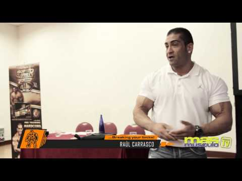 Seminario de Nutrición Deportiva - Madrid - Raúl Carrasco y Milos Sarcev - PART III