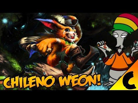 Estoy jugando con chileno ese weon tiene problema weon