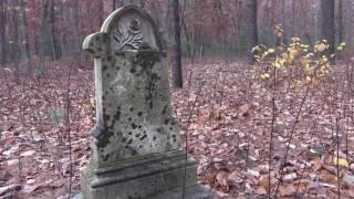 Abandoned Shadows Rest Cemetery Tinton Falls NJ Ruffin Court