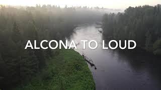 AuSable River Canoe Marathon Drone Footage