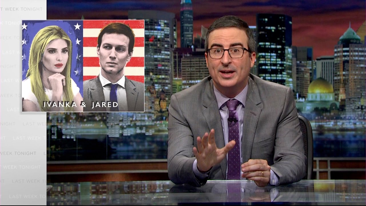 Ivanka & Jared: Last Week Tonight with John Oliver (HBO) #1