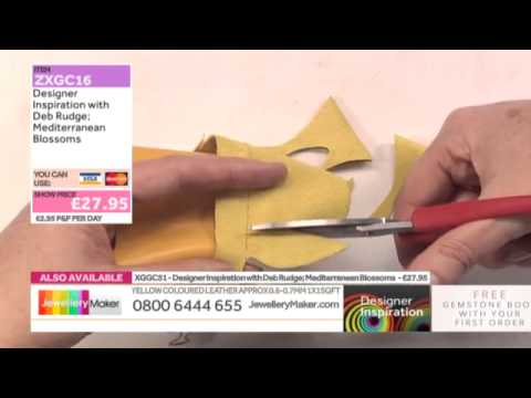 How to create Leather Jewellery - Jewellery Maker DI LIVE - 20/08/15
