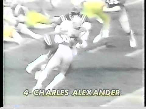Charles Alexander LSU FOOTBALL