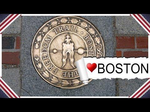 Boston Freedom Trail Video Tour - Reiseführer über 16 historische Sehenswürdigkeiten in Boston