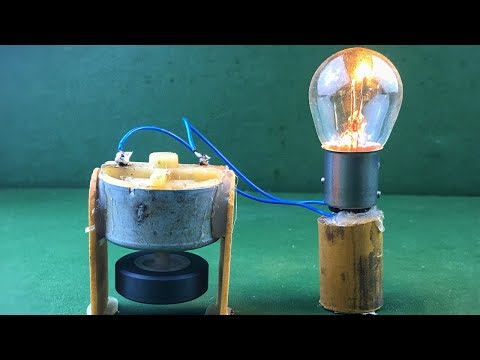 How to Make a Generator of Free Energy Electricity at Home