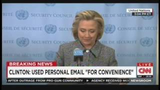 Hillary Clinton Press Conference at the United Nations (March 10, 2015) [1/2]