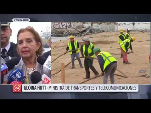 Cable de fibra óptica de Google une Chile con California