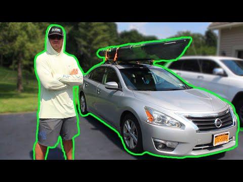 How To Car Top A Kayak | Kayak Fishing
