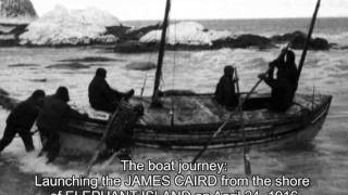 ERNEST SHACKLETON & THE ENDURANCE - a picture story with an eerie soundtrack