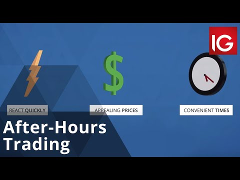 After-Hours Trading | How To Trade With IG