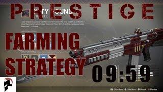 Destiny 2 - Prestige Nightfall Speedrun (09:59) - Farming Strategy For Duty Bound - Savathun's Song