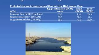 Potential Impact of Climate Change on the Egyptian Economy