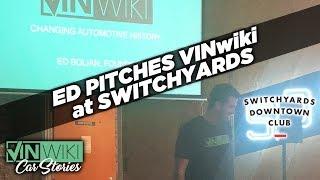 Ed Bolian Presents VINwiki at Switchyards