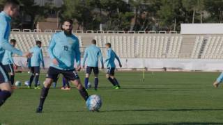 FFATV - Socceroos v Iraq pregame training