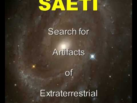 SAETI - Search for Artifacts of Extraterr...