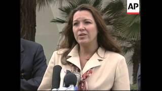 USA: WHITEWATER FIGURE SUSAN MCDOUGAL CRITICISES LEWINSKY
