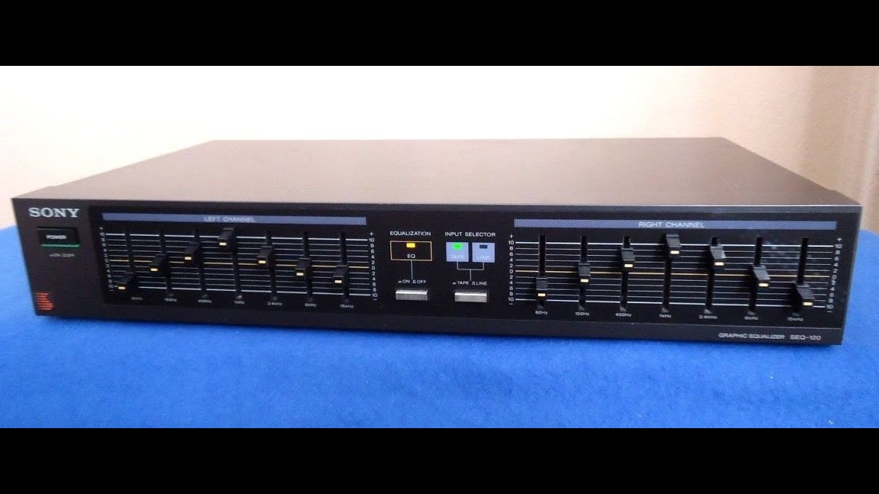 sony seq 120 graphic equalizer 842528 youtube rh youtube com Stereo Graphic Equalizer for Car Sony Car Stereo Systems