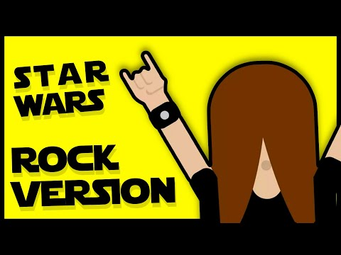 Star Wars - Main Theme (rock version)
