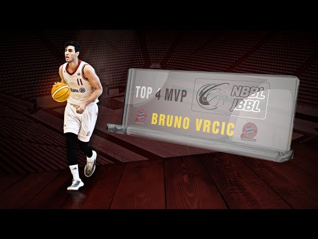 NBBL - TOP4 MVP Bruno Vrcic