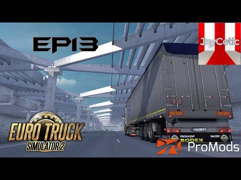 Euro Truck Simulator 2 - EP13 - Orléans (France) to Zwolle (Netherlands)
