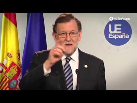 """Rajoy se quita de encima una pregunta de la BBC porque era en inglés: """"Bueno, sí, hombre..."""""""