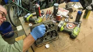 VW Beetle cylinder heads part 4