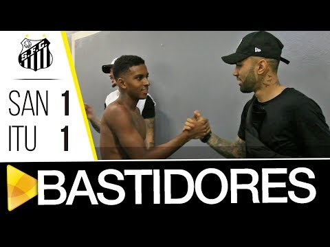 Santos 1 x 1 Ituano | BASTIDORES | Paulistão (28/01/18)