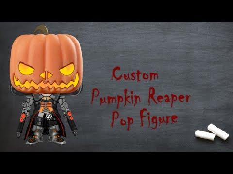 Custom Pumpkin Reaper Pop Figure