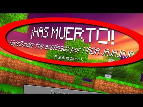 ¡10 PEORES MANERAS DE MORIR EN MINECRAFT! | MINECRAFT TROLL thumbnail