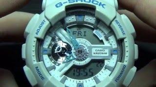 Рассказываю про часы CASIO G-SHOCK GA-110SN-7A(, 2016-03-11T20:23:15.000Z)