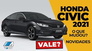Honda Civic 2021 | Novidades | O que mudou? | Vale? | motoreseacao