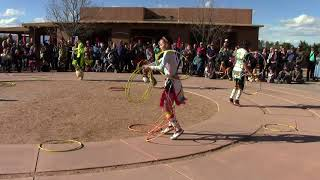 Valentino Tzigiwhaeno Rivera - Celebration Of Life | Lightning Boy Hoop Dancers Clip 3
