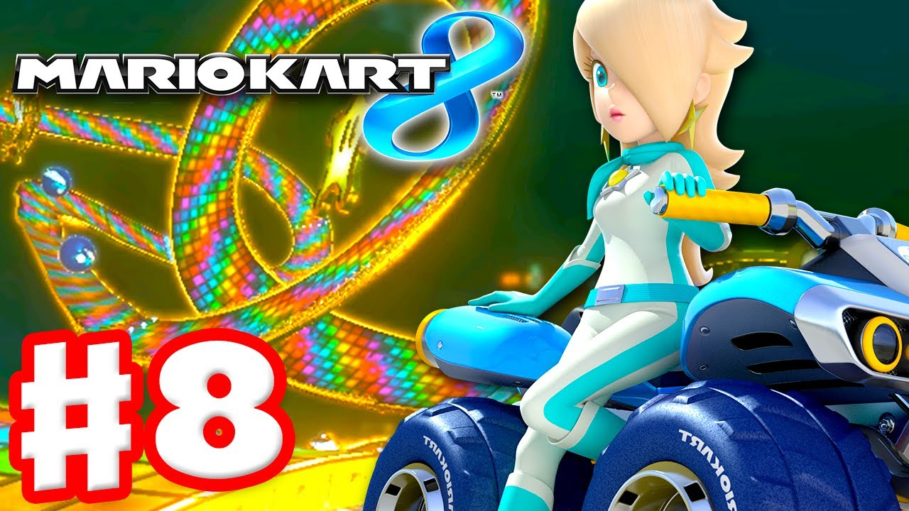 mario kart 8 gameplay part 8 50cc lightning cup. Black Bedroom Furniture Sets. Home Design Ideas